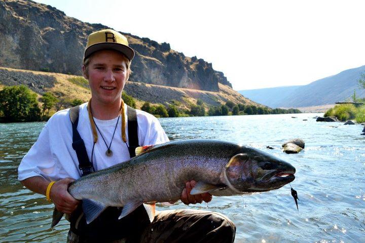 Summer steelhead report renton 39 s river adventures for Big bend fishing report